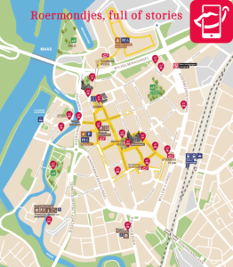 Roermondjes, full of stories plattegrond