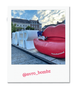 Selfiehotspot Stationsplein