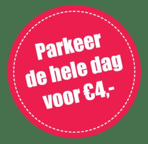 Parkeren 4 euro Roermond